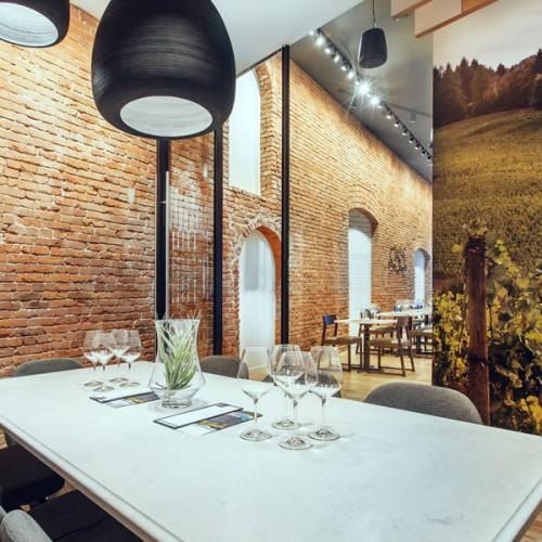 Estates Tasting Room, Pioneer Square, Seattle WA, Upward Architecture